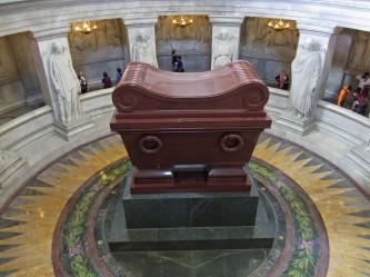Looking down on Napoleon's tomb© 2014 Karen A. Johnson
